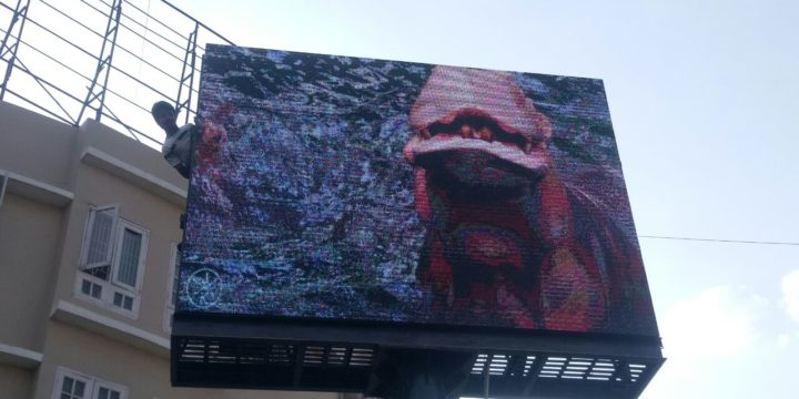 Videowall at Highway for Advertisments & Promotions