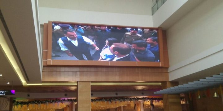 Shopping Mall Indoor LED Video Wall