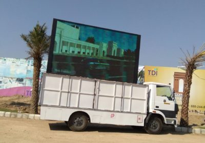 LED Van for Advertisements & Promotions
